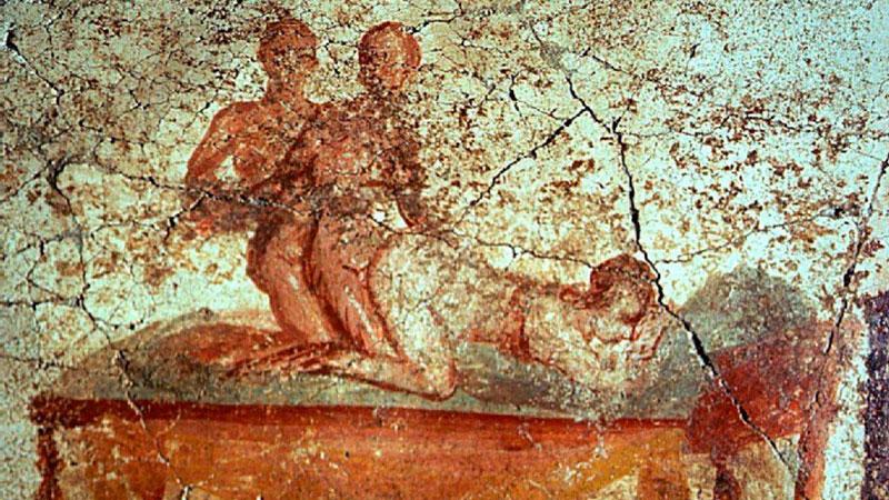 Pintura Romana. Sexo. Pompeya