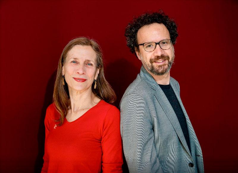 Mariette Rissenbeek y Carlo Chatrian. Berlinale