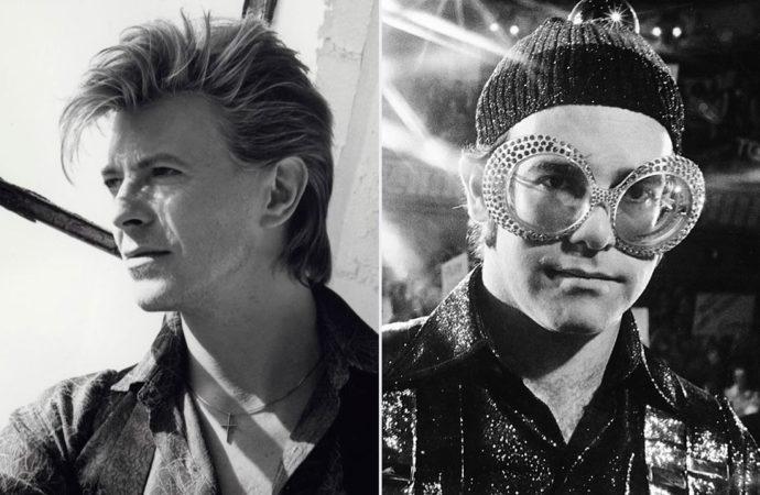 'Ice on Fire': la guerra fría de Elton John y David Bowie