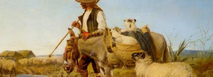 'Ya se van los pastores': un haiku riojano