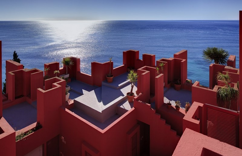 La muralla roja en Calpe