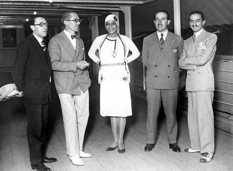 Joséphine Baker Le Corbusier
